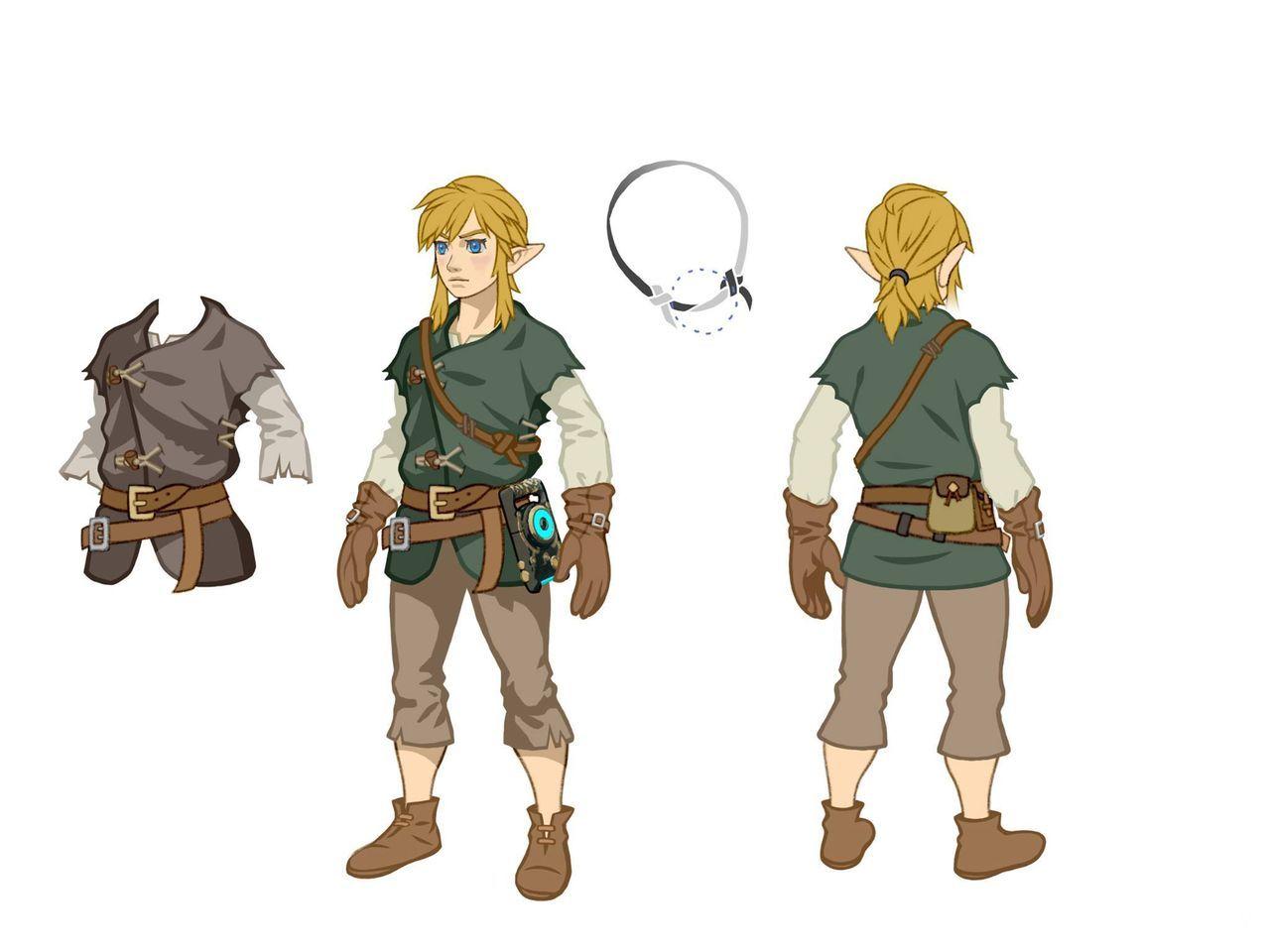 The Legend of Zelda Breath of the Wild - Traje de invierno