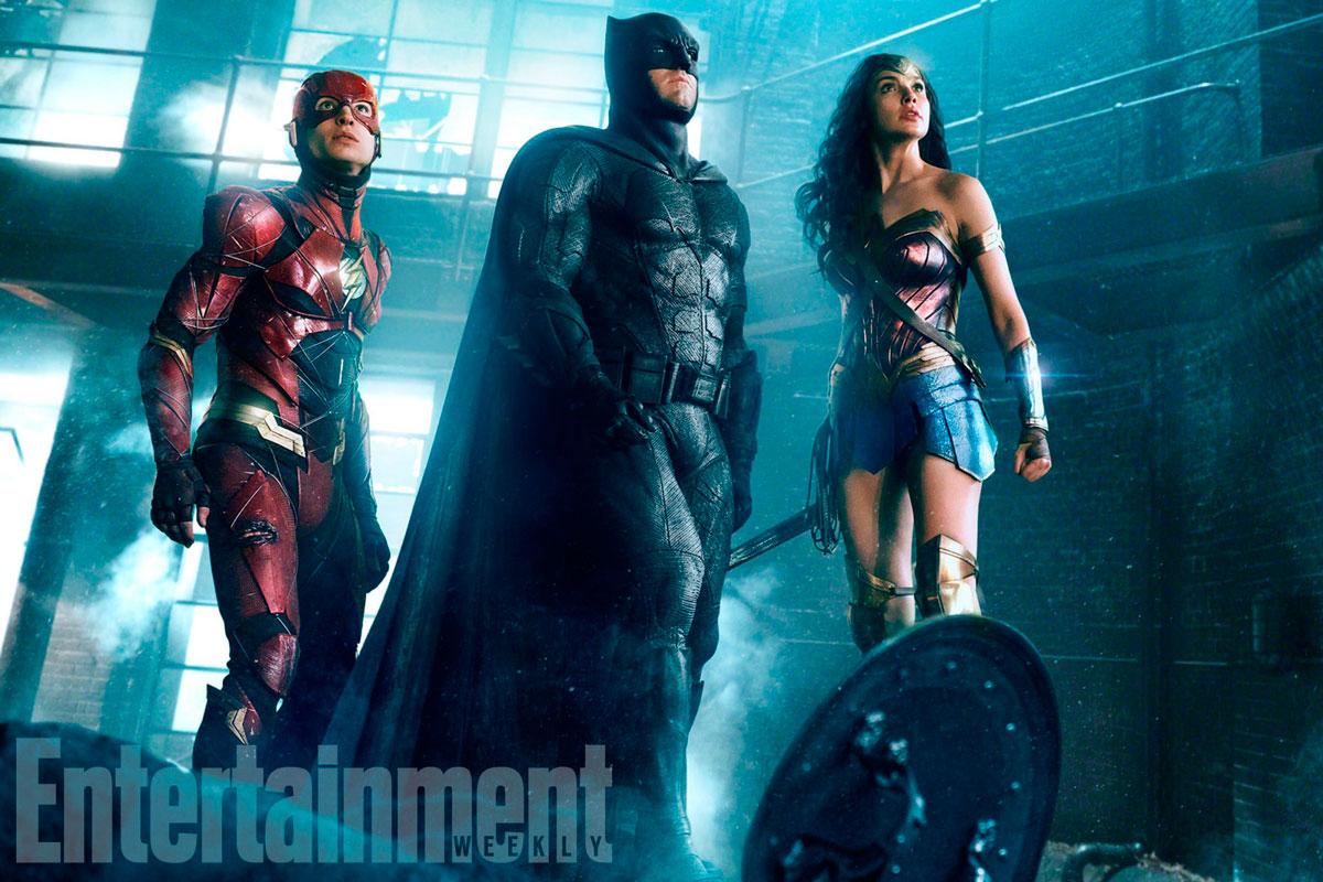 La Liga de la Justicia: Batman, Wonder Woman y The Flash