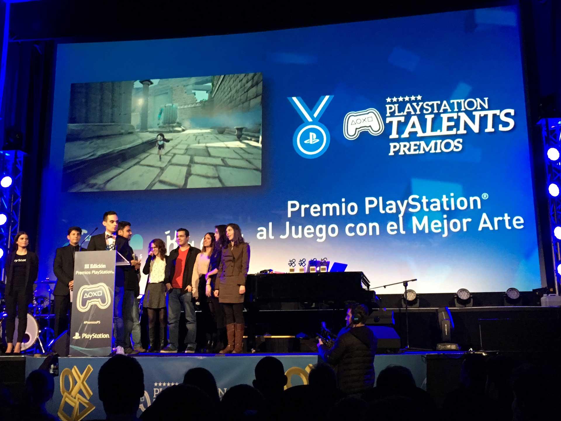 Mejor arte Premios PS