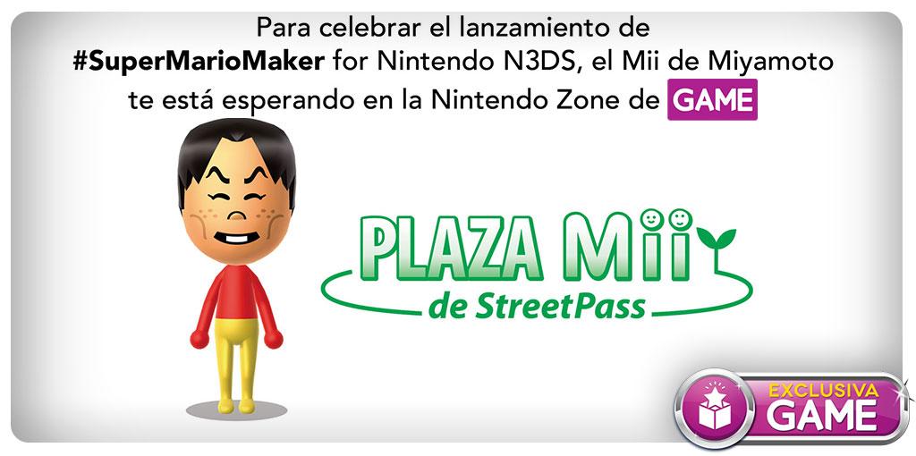 Miyamoto Mii en GAME