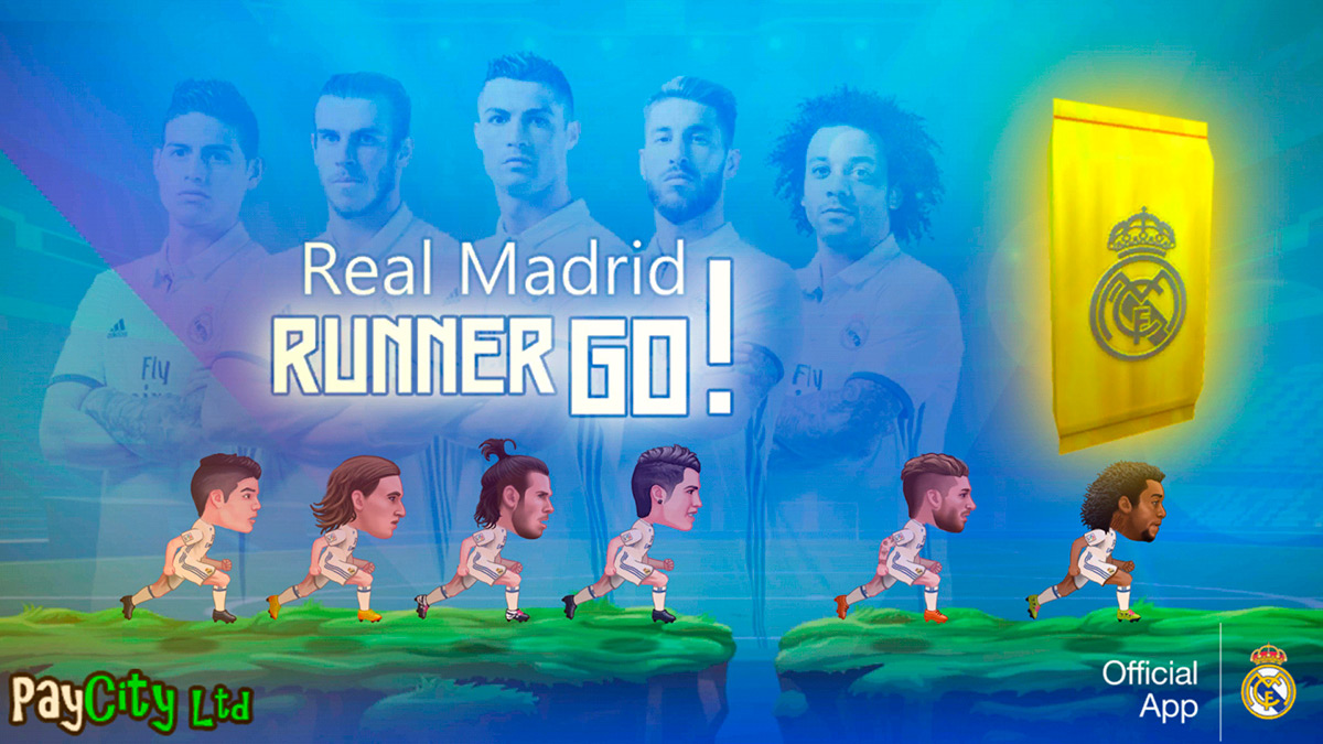 Real Madrid Runner GO! (iOS, Android)