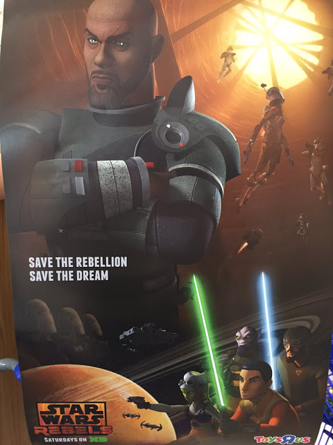Saw Gerrrera en la tercera temporada de Star Wars Rebels