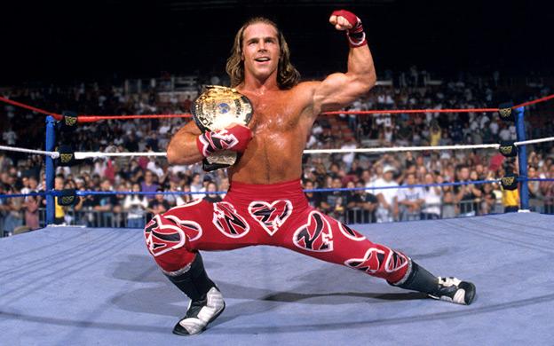 Shawn Michaels en su etapa como luchador de la WWE