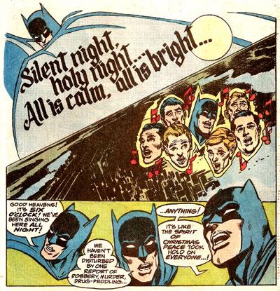 Silent Night of the Batman