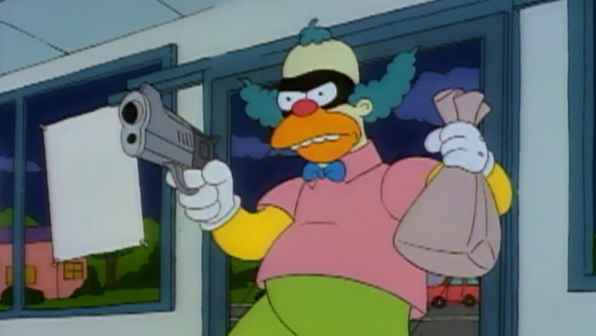 Krusty thief