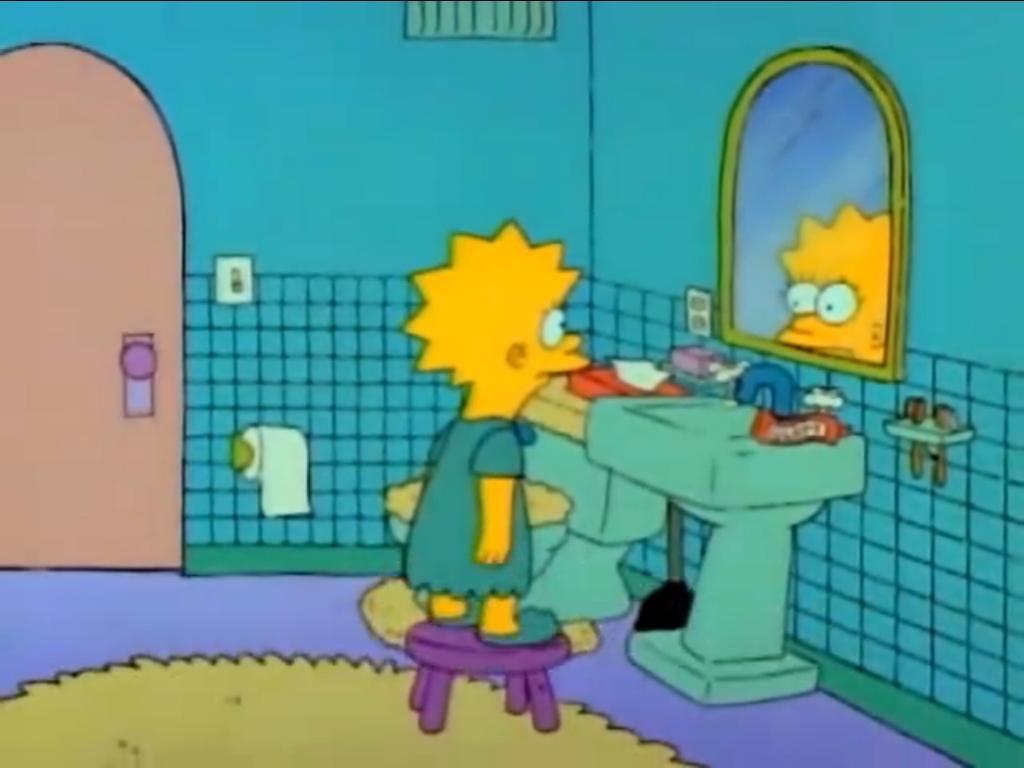 Lisa triste