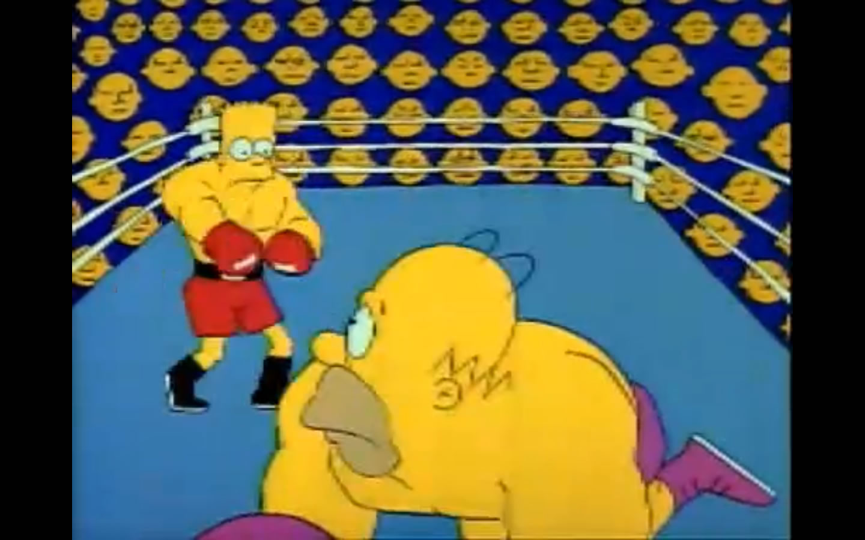 Homer boxing