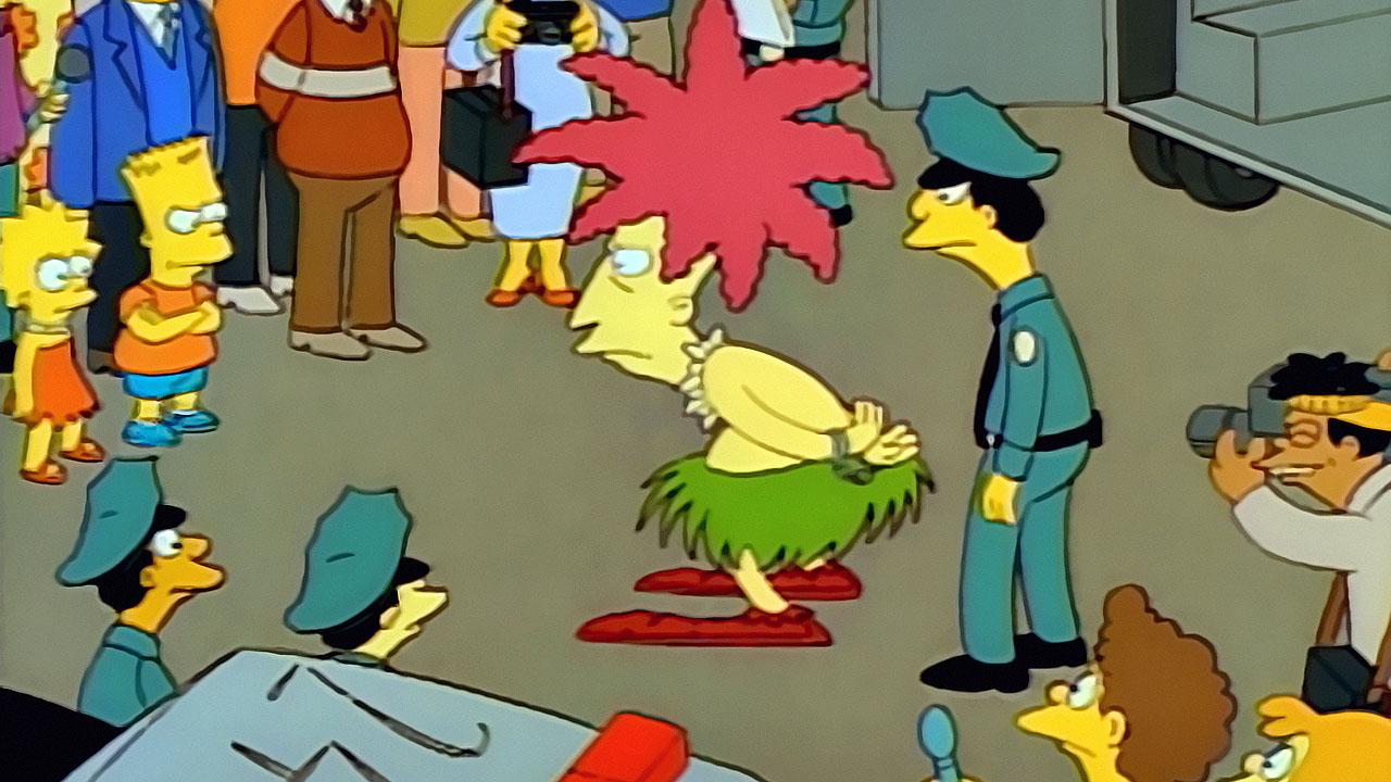 Los Simpson 01x12: Krusty Va A La Cárcel