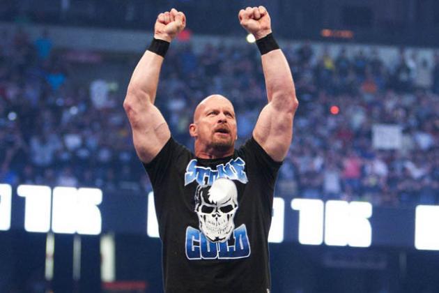 Stone Cold Steve Austin durante su etapa como luchador de la WWE