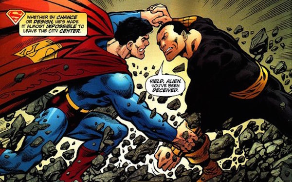 Superman v Black Adam