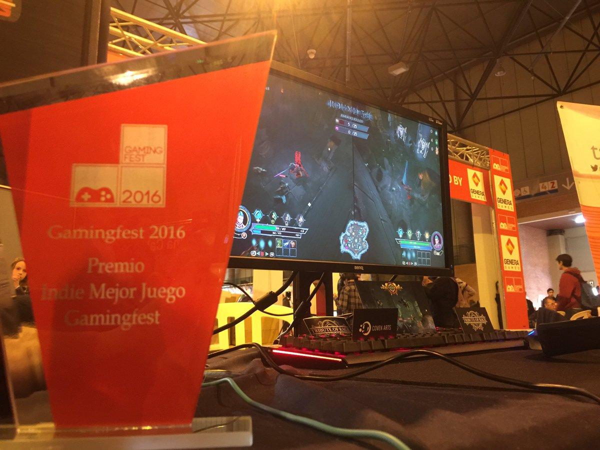 U-tad en Gamingfest premio mejor indie