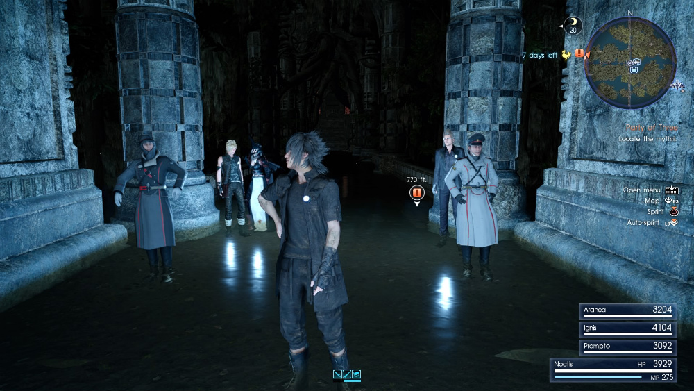 Wedge y Biggs en Final Fantasy XV