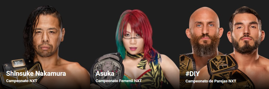 WWE - Campeonatos NXT