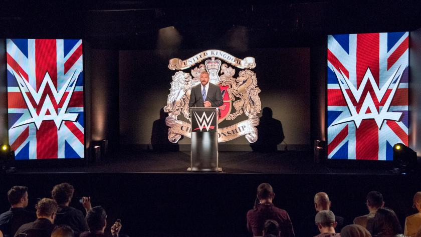 Triple H anuncia el primer Torneo por el Campeona de Reino Unido de la WWE