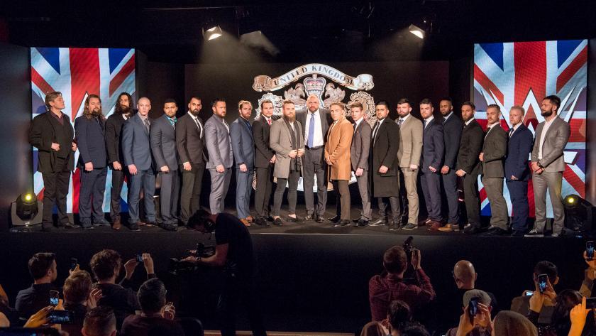 WWE - Primer Torneo por el Campeonato de Reino Unido