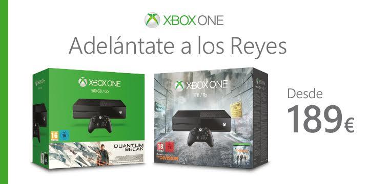 Xbox One por 189 €