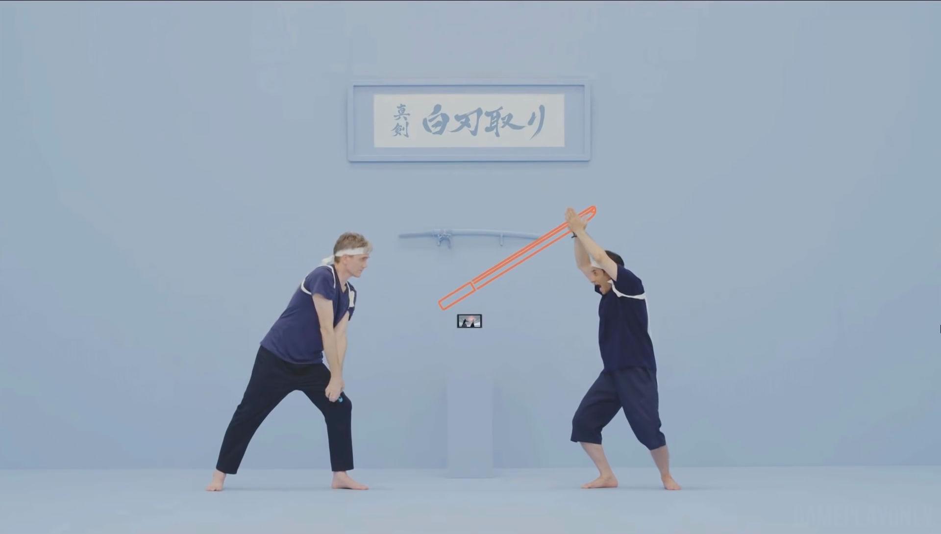 1-2-Switch Samurai Training