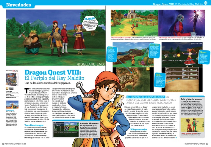 Analizamos Dragon Quest VIII para 3DS