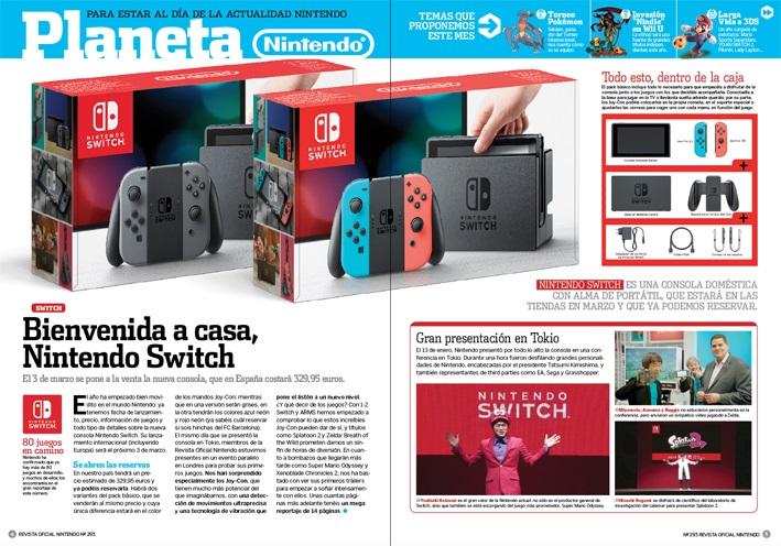 Switch llegará el 3 de marzo a un precio de 329,95 €