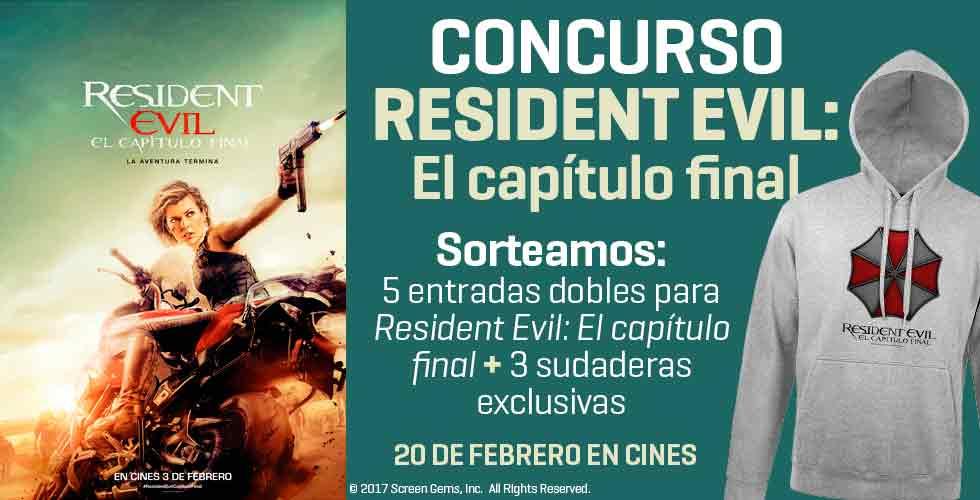 Concurso Resident Evil: el capítulo final