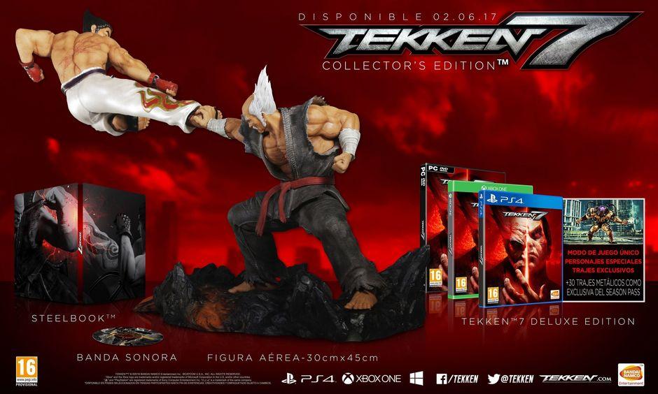 Edición Coleccionista de Tekken 7