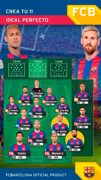 FCB Fantasy Manager (iOS, Android)