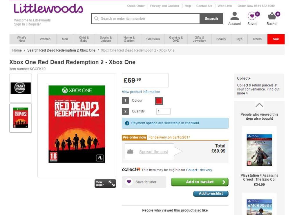 Filtración fecha Red Dead Redemption 2