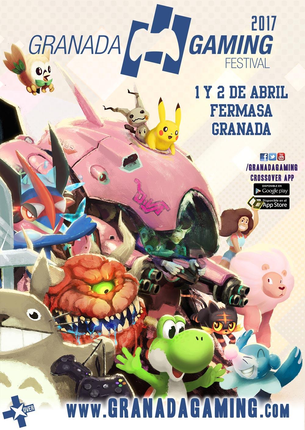 Granada Gaming Festival 2017 - Cartel