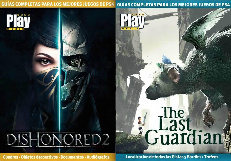 Guías completas de Dishonored 2 y The Last Guardian en Playmanía 219