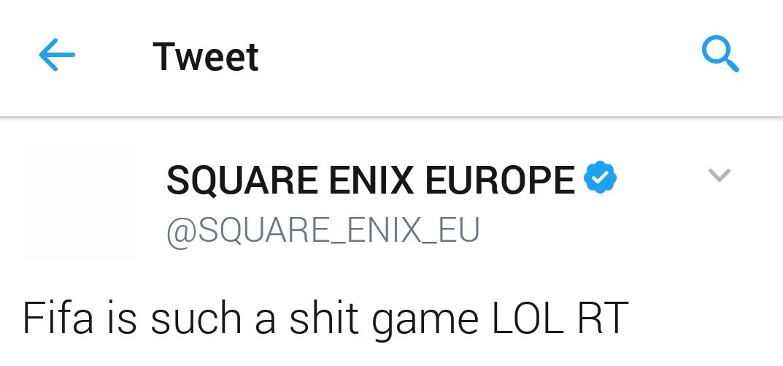 Hackean la cuenta de Square Enix Europa en Twitter