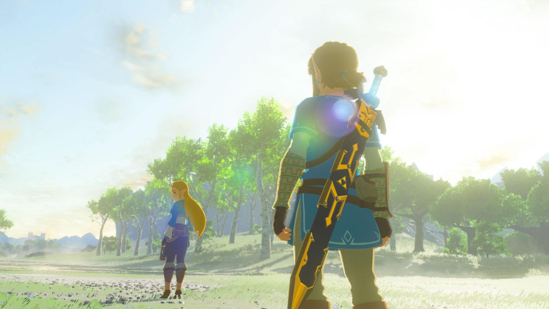 Zelda breath of the wild para nintendo switch for Cocinar zelda