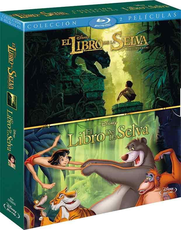 El libro de la selva pack