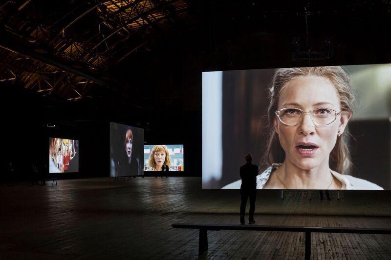 Julian Rosefeldt, Cate Blanchet,  Sundance