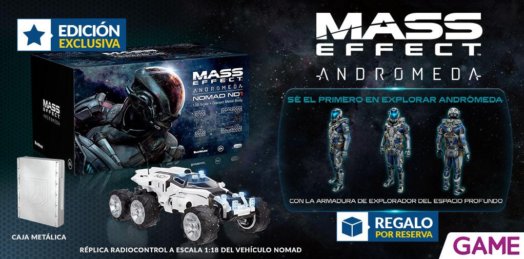 Mass Effect AndromedaMass Effect Andromeda edición coleccionista GAME