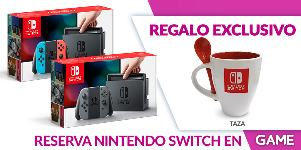 Nintendo Switch reserva en GAME