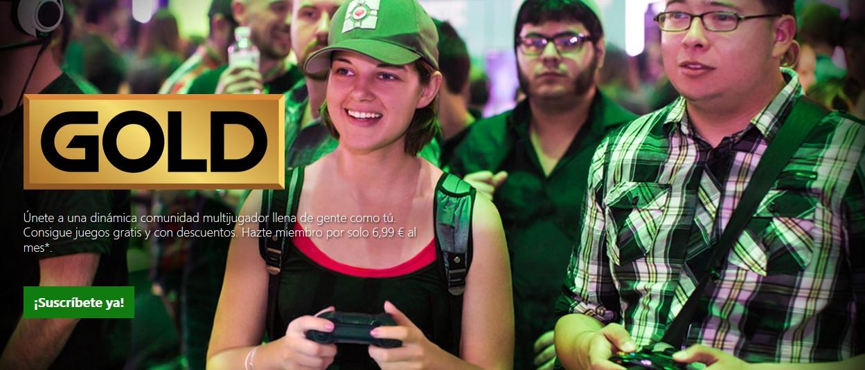 Precio Xbox Live Gold