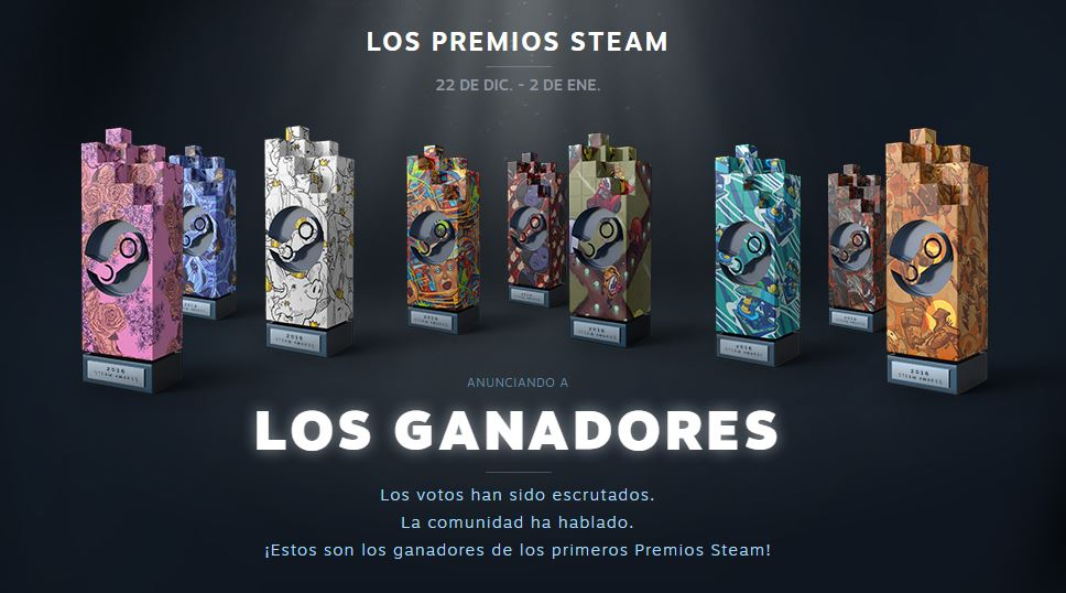 Premios Steam 2016