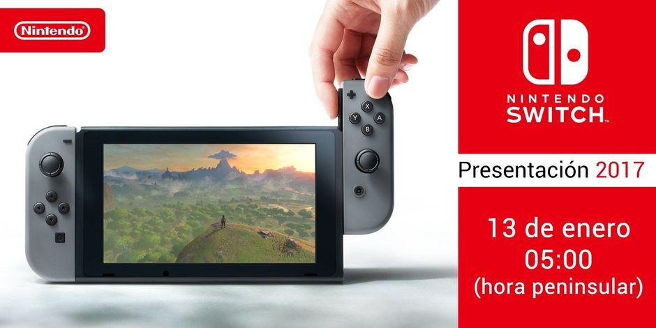 Presentación Nintendo Switch España