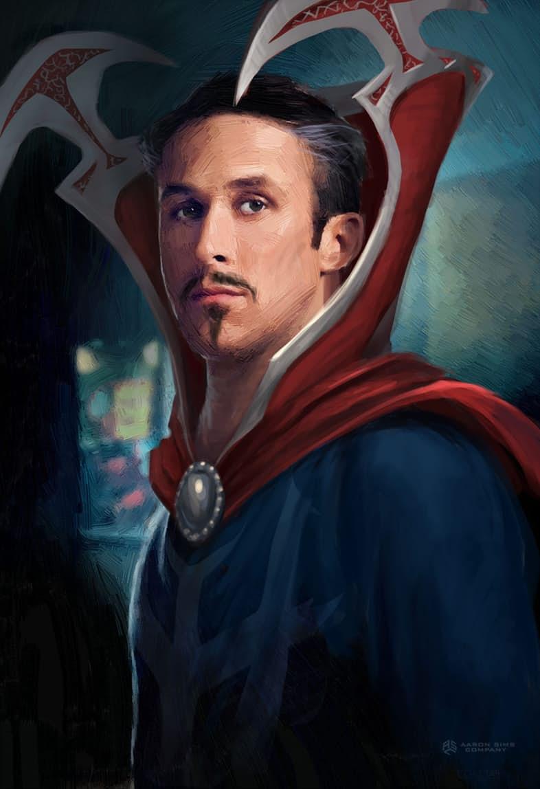 Ryan Gosling: Concept art Doctor Strange