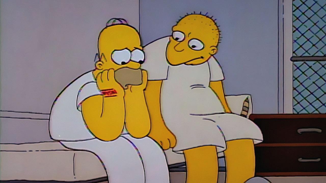 Los simpson 03x01 pap loco de atar la tercera - Homer simpson tout nu ...