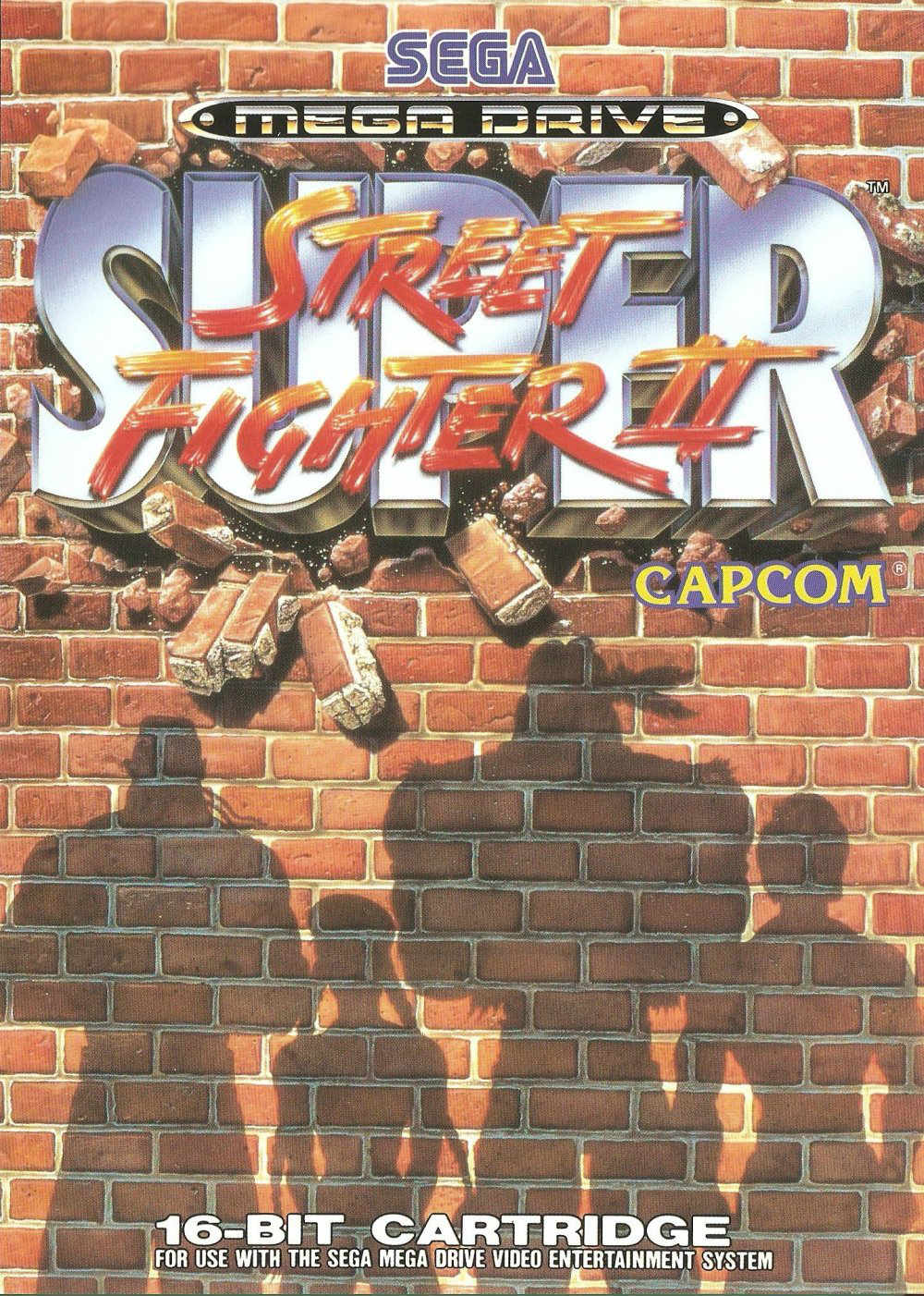 Super Street Fighter 2 Mega Drive