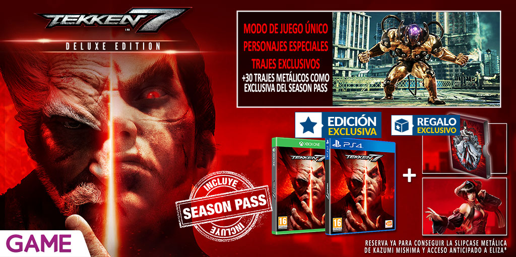 Tekken 7 - Edición Deluxe exclusiva de GAME