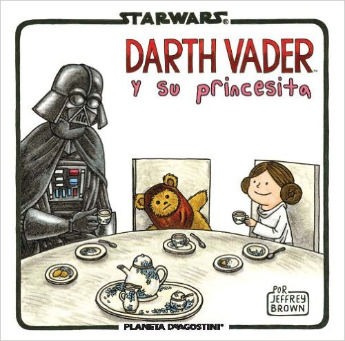 Vader y su princesita