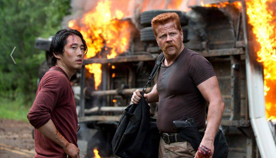 The Walking Dead - Abraham y Glenn