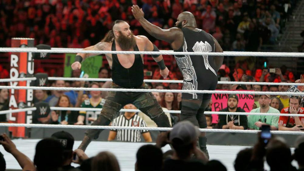 WWE - Braun Strowman en Royal Rumble 2017