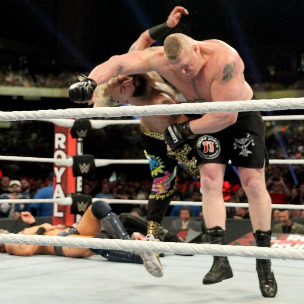 WWE - Enzo Amore en Royal Rumble 2017