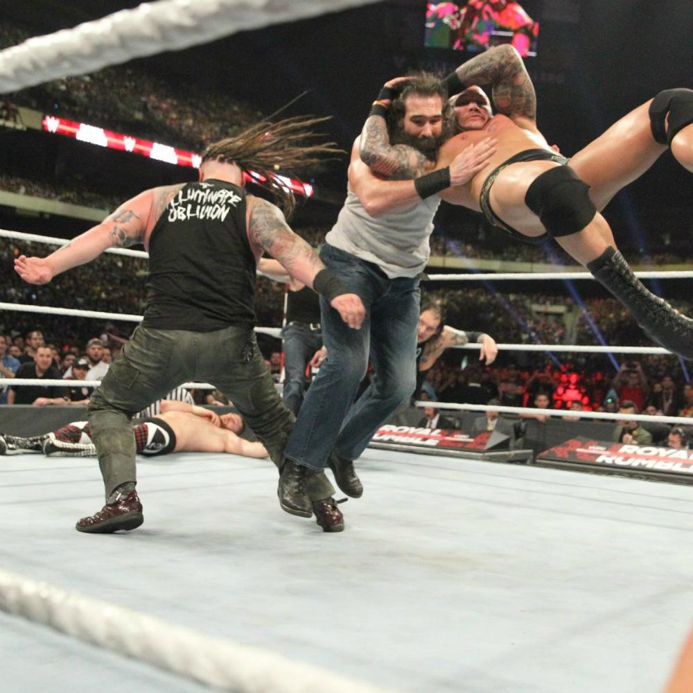WWE - La Familia Wyatt en Royal Rumble 2017