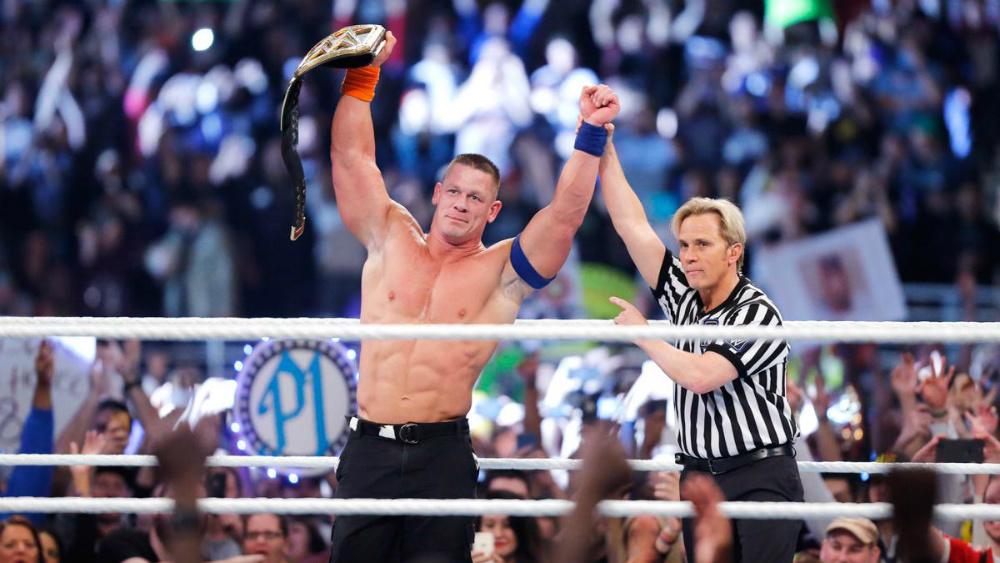 WWE - John Cena Campeón Mundial en Royal Rumble 2017