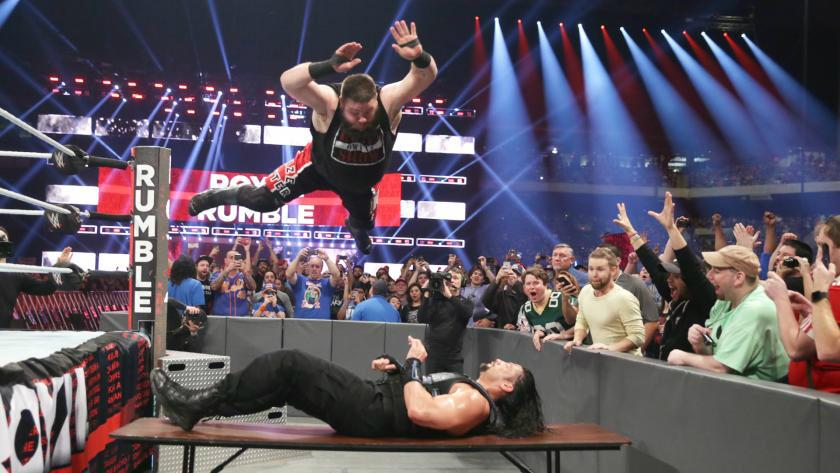 WWE - Kevin Owens vs Roman Reigns en Royal Rumble 2017