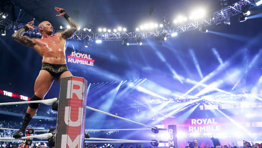 WWE - Randy Orton gana Royal Rumble 2017